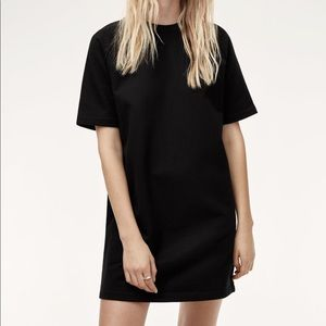 Talula Black T-shirt Shift Dress